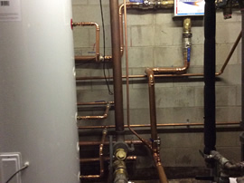 Commercial Hot Water Plant Room Systems